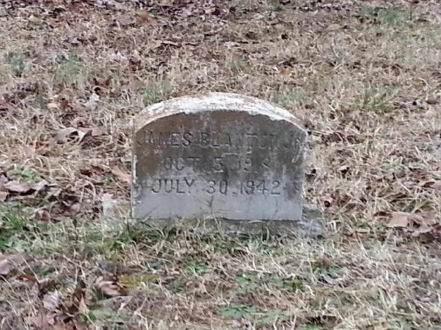 Jimmie Blanton headstone