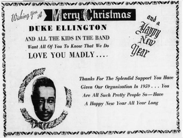 1959 holiday card